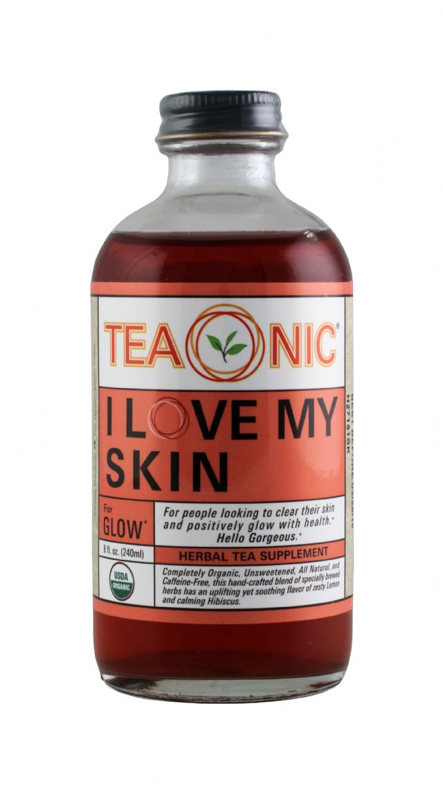 Teaonic Herbal Tea Tonics: TeaOnic Skin Front