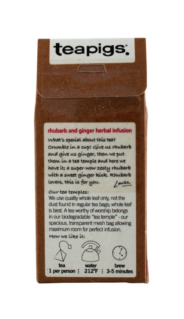teapigs: TeaPigs RhubarbGing Back