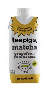 Grapefruit Green Tea Drink
