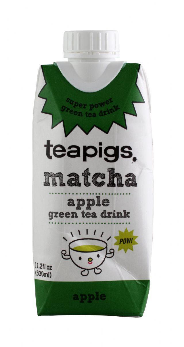 teapigs. matcha: TeaPigs Apple Front