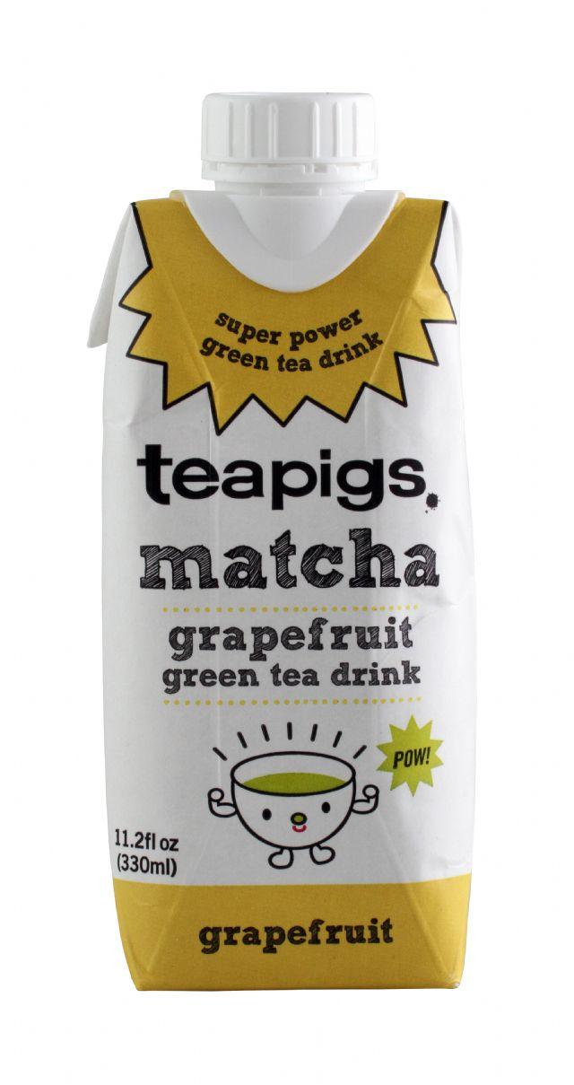 teapigs. matcha: TeaPigs Grapefruit Front