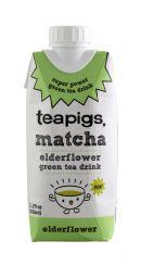 teapigs. matcha: TeaPigs Elder front
