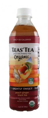 Organic Peach Ginger Black Tea