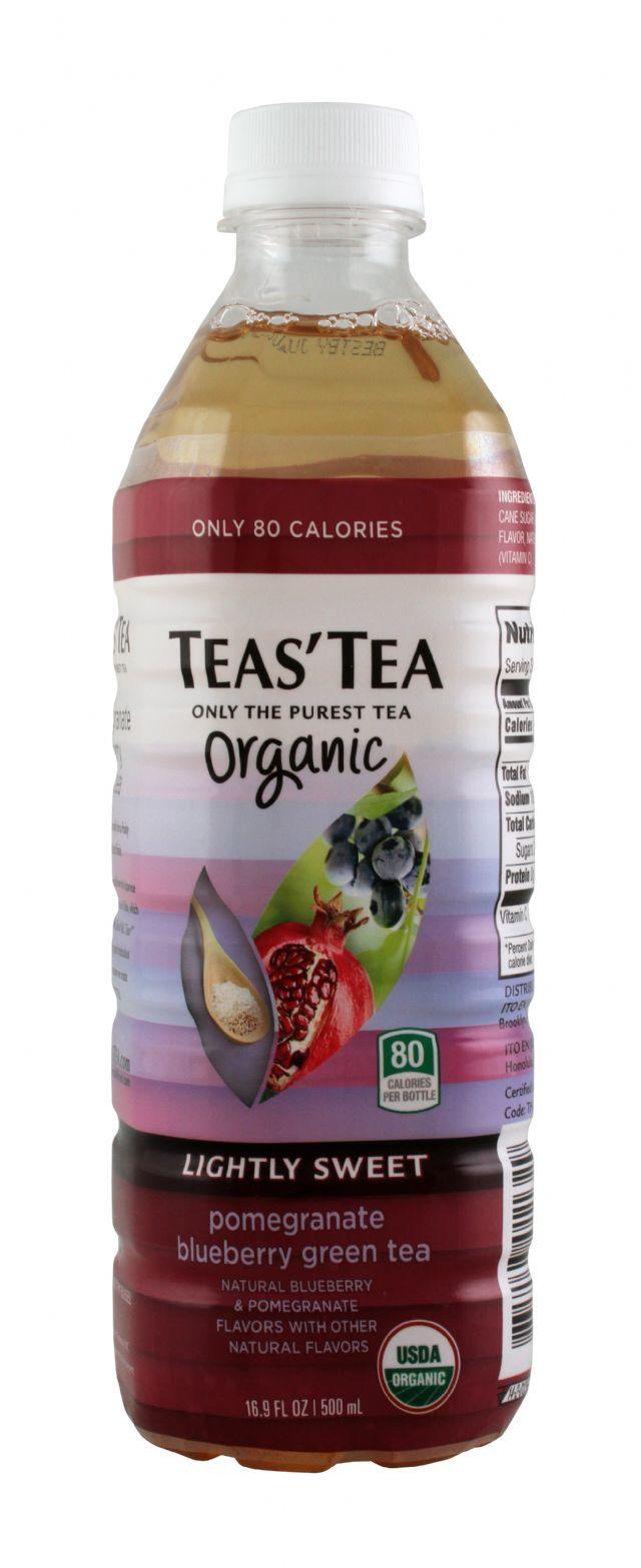 Teas' Tea: TeasTea PomBlueGreen Front