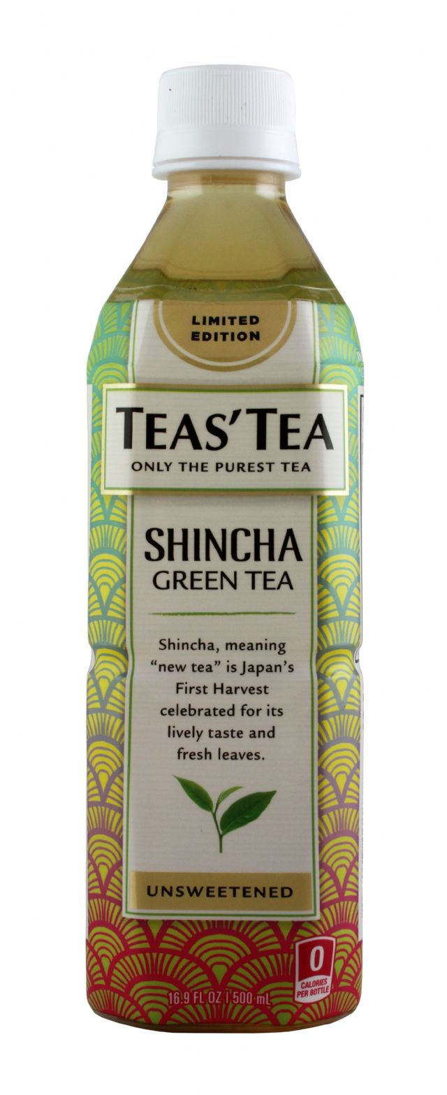 Teas' Tea: TeasTea ShinChaGreen Front