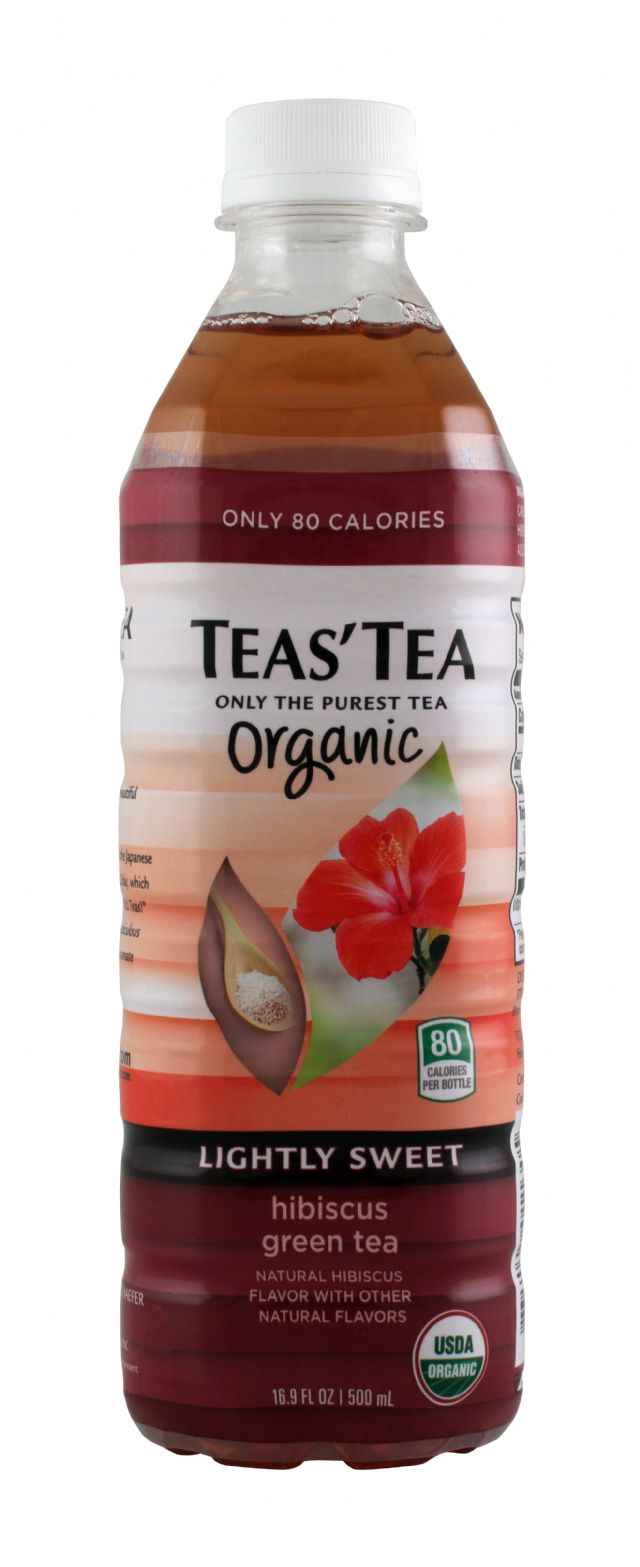 Teas' Tea: TeasTea HibGreen Front