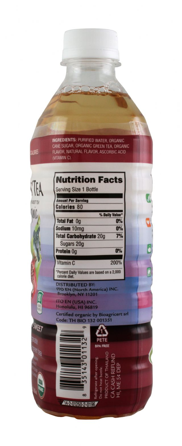 Teas' Tea: TeasTea PomBlueGreen Facts
