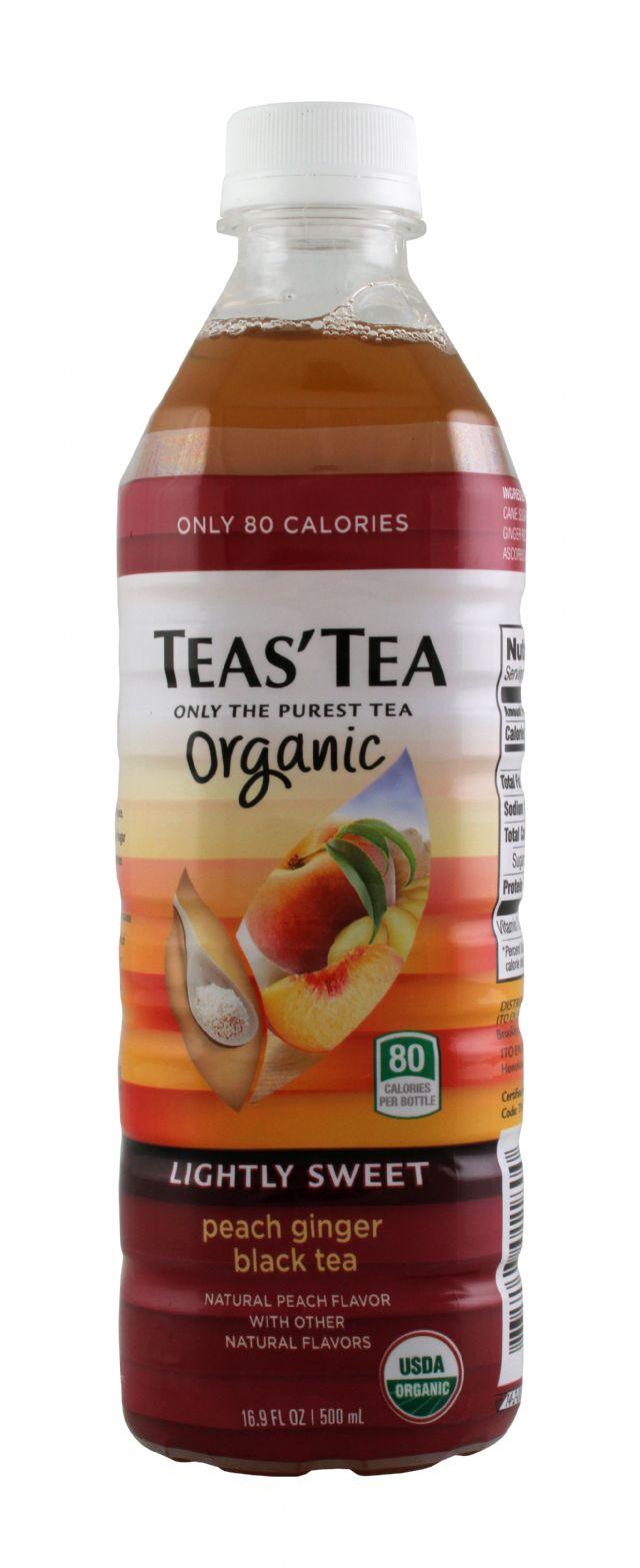 Teas' Tea: TeasTea PeachGingBlackTea Front