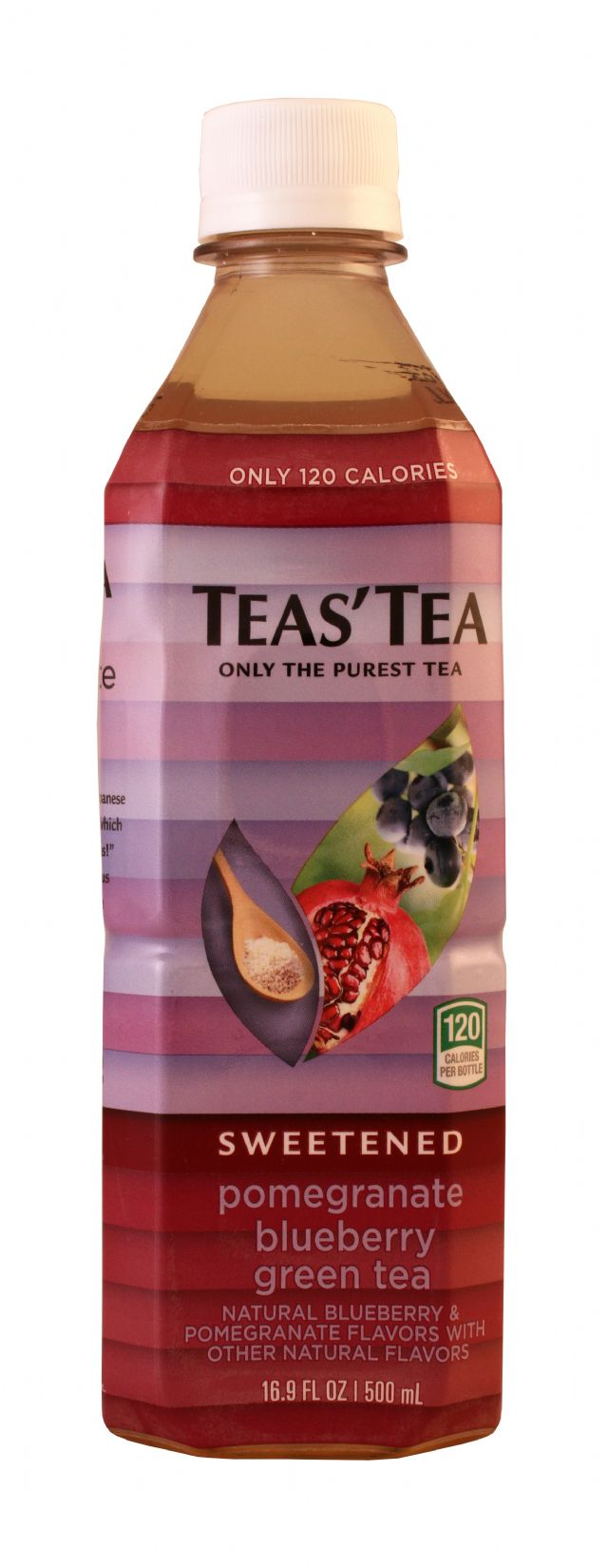 Teas' Tea: TeasTea PomBlue Front