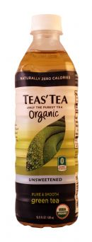 Teas' Tea: TeasTea OrganicUnsweet Front
