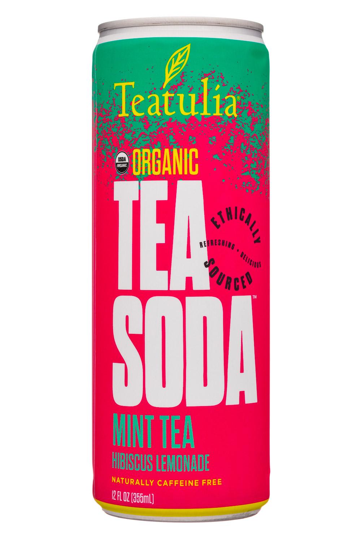 Mint Tea + Hibiscus Lemonade