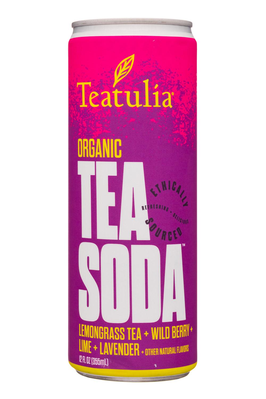 Teatulia: Teatulia-12oz-TeaSoda-LemongrassBerryLavender-Front