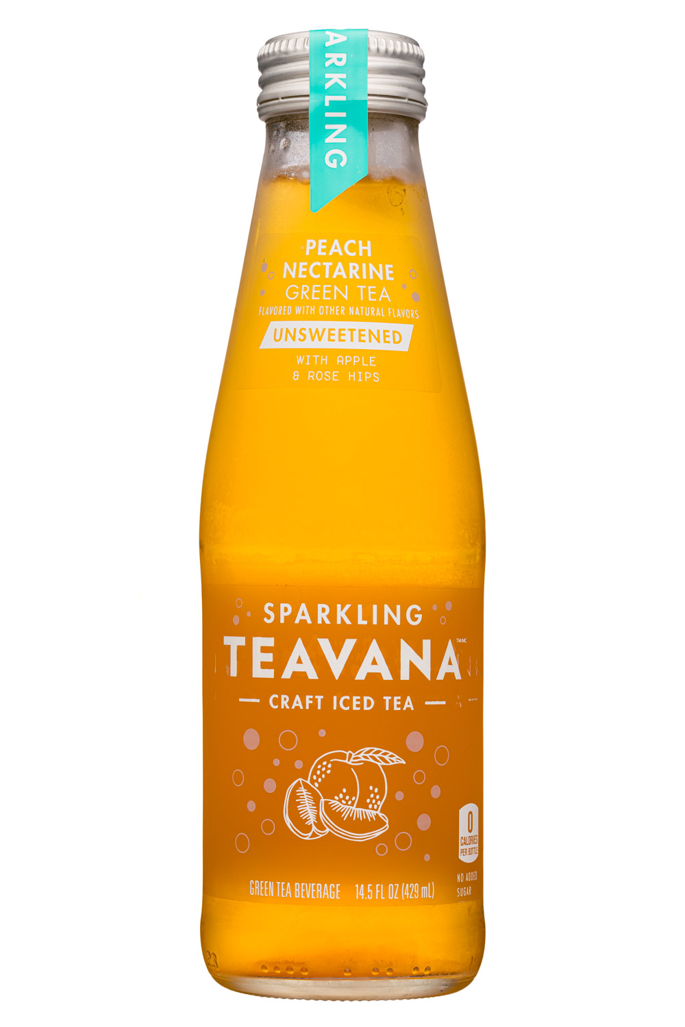 Sparkling Peach Nectarine Green Tea
