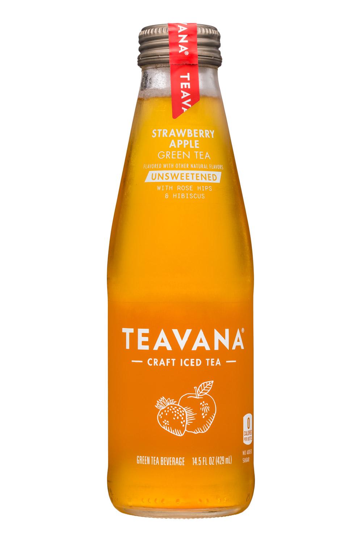 Teavana: Teavana-14oz-StrawberryApple-GreenTea-Unsweet-Front