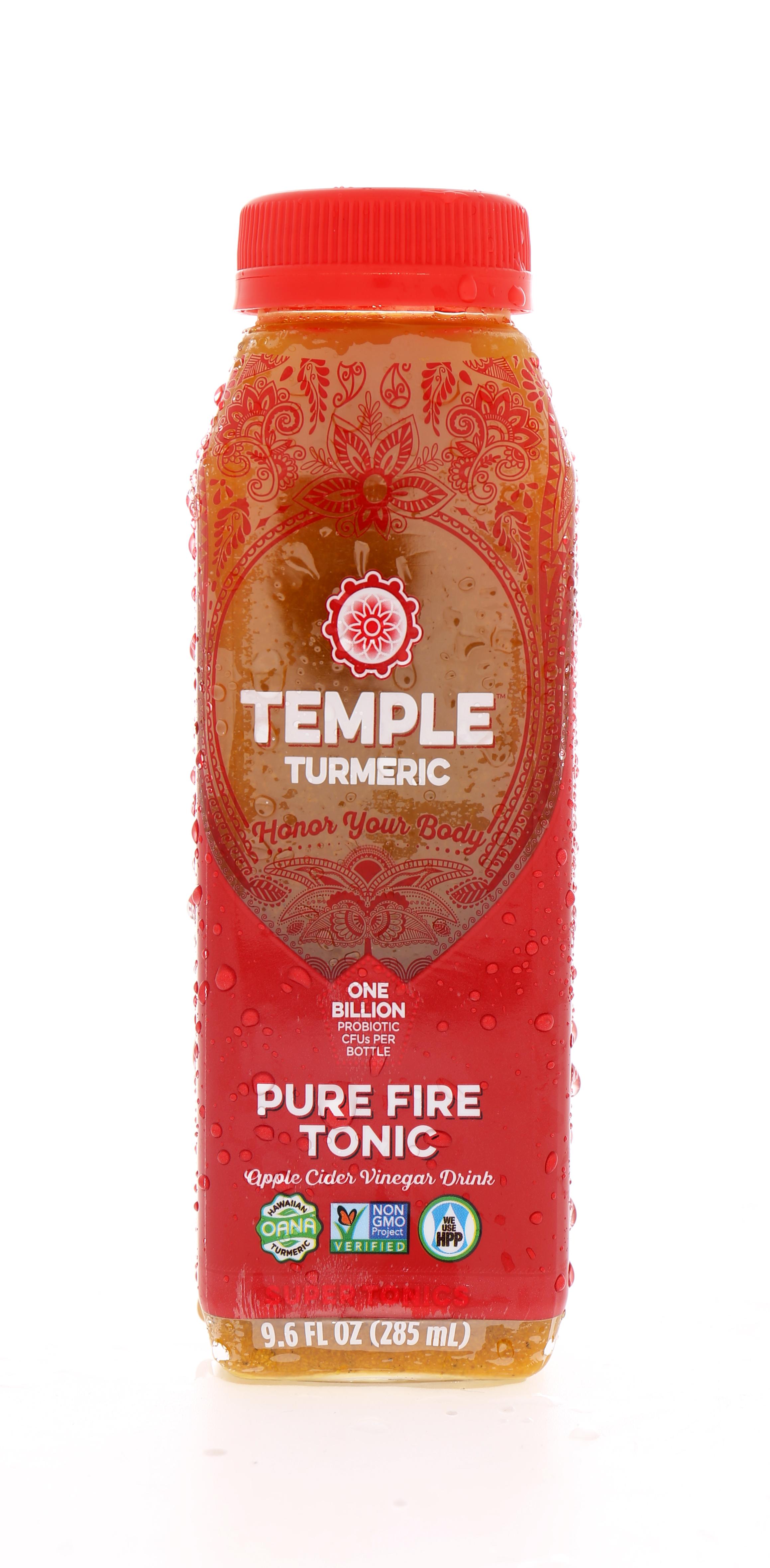 Temple Turmeric Super Elixirs: Temple PureFire Front