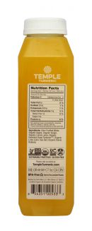 Temple Turmeric Super Lights: Temple LemonGing Facts