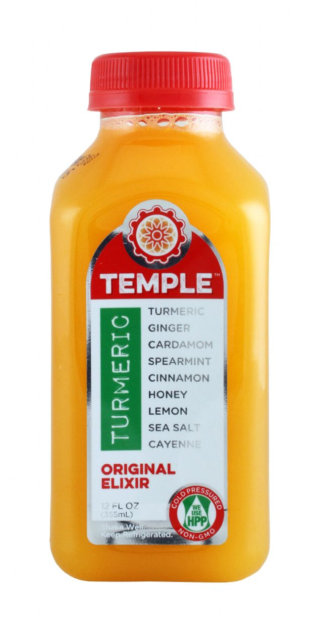 Temple Turmeric: TumericTemple Original Front