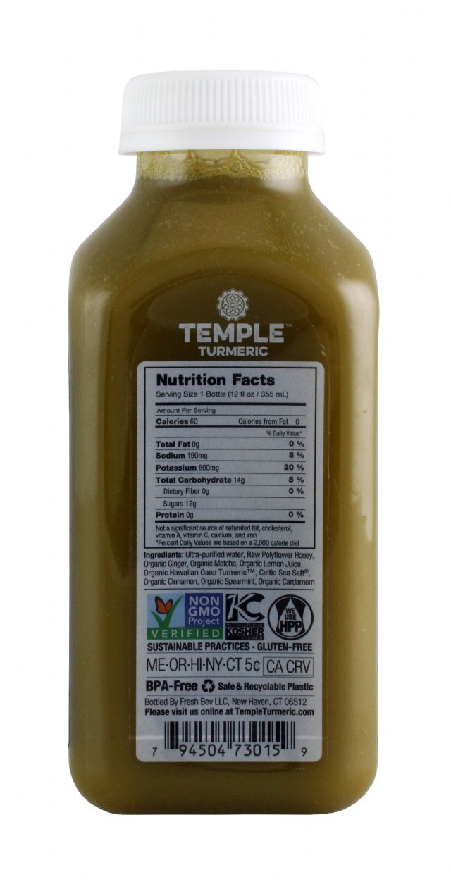 Temple Turmeric: TumericTemple JapMatcha Facts