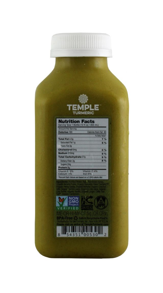Temple Turmeric: Temple MatchaLatte Facts