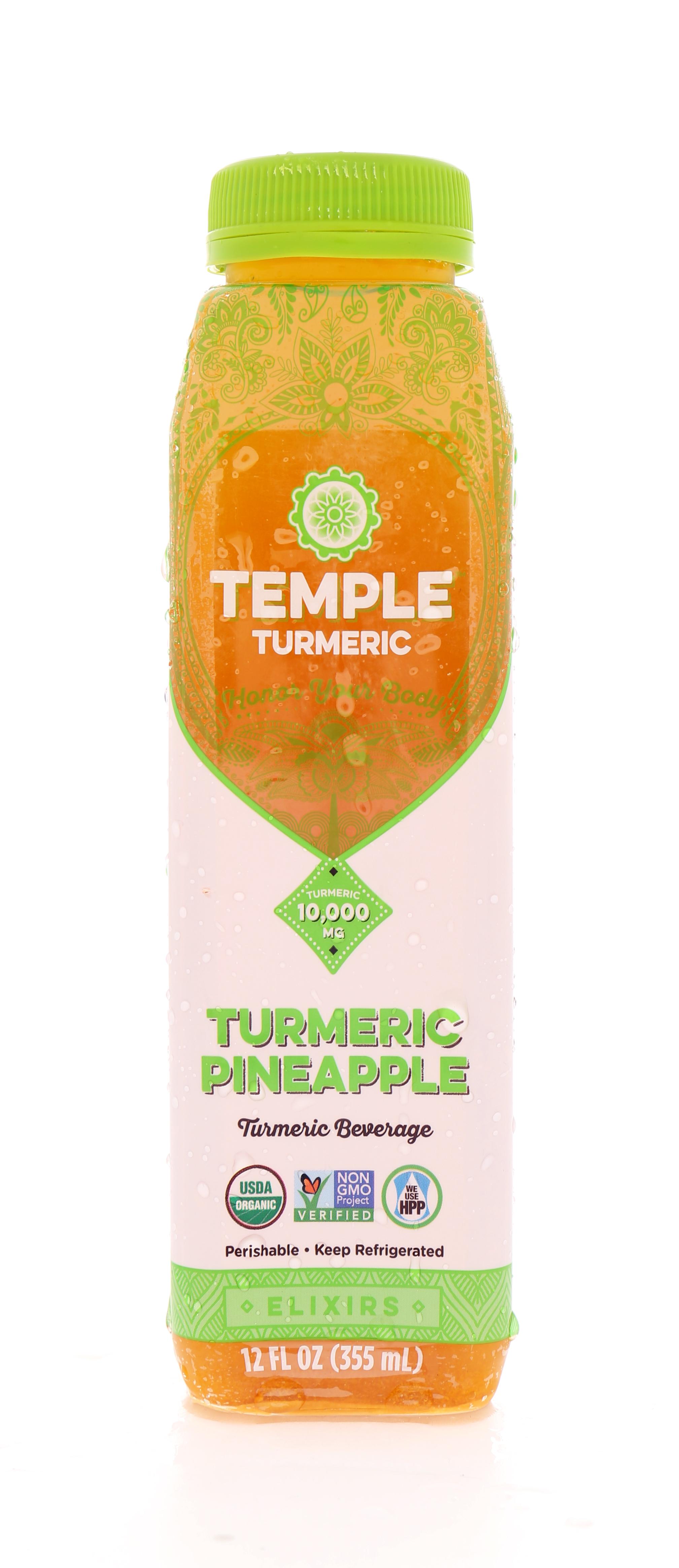 Temple Turmeric: TumericTemple TumPine Front