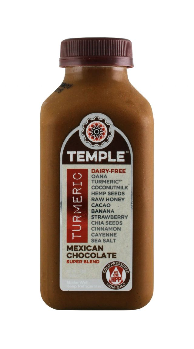 Temple Turmeric: Temple MexChoco Front