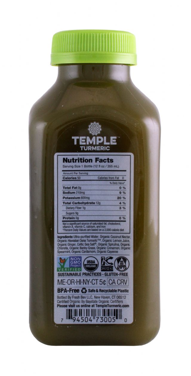 Temple Turmeric: TumericTemple MineralGreen Facts