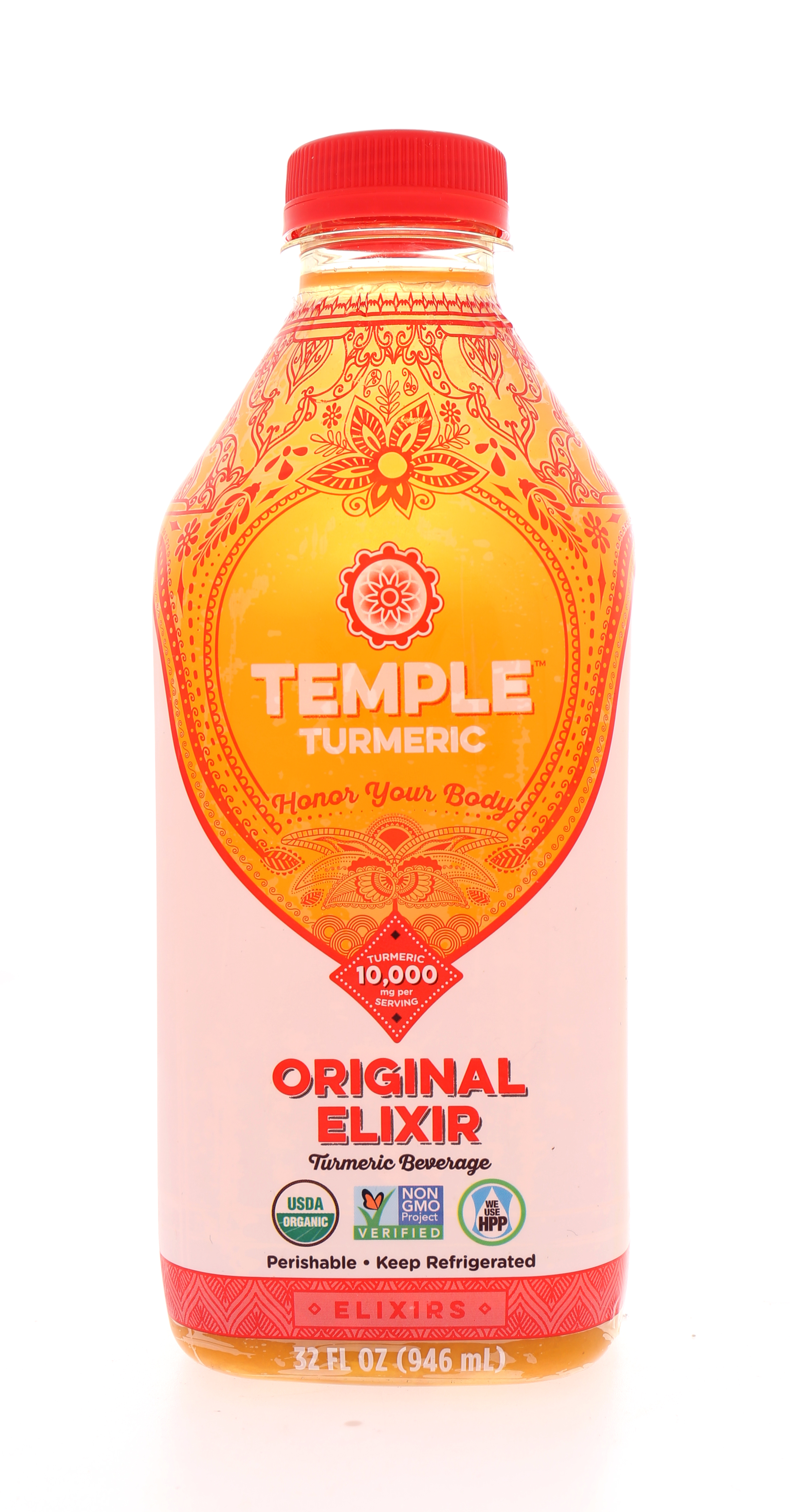 Temple Turmeric: Temple Orig Front