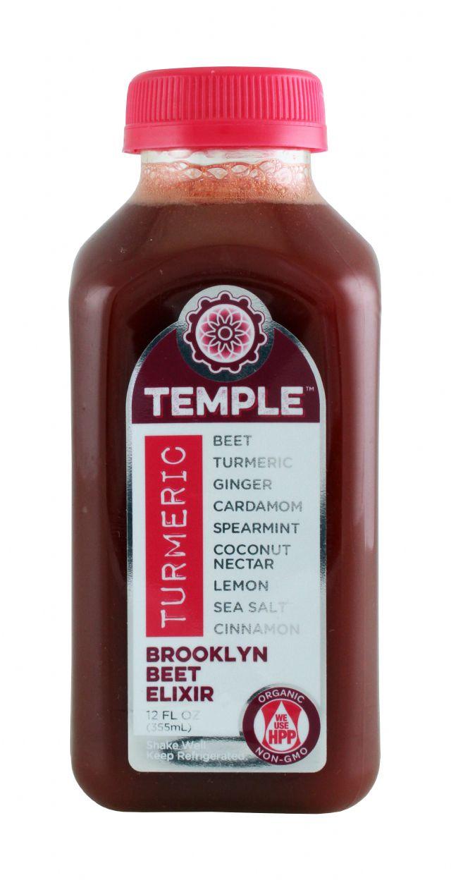 Temple Turmeric: TumericTemple BrooklynBeet Front
