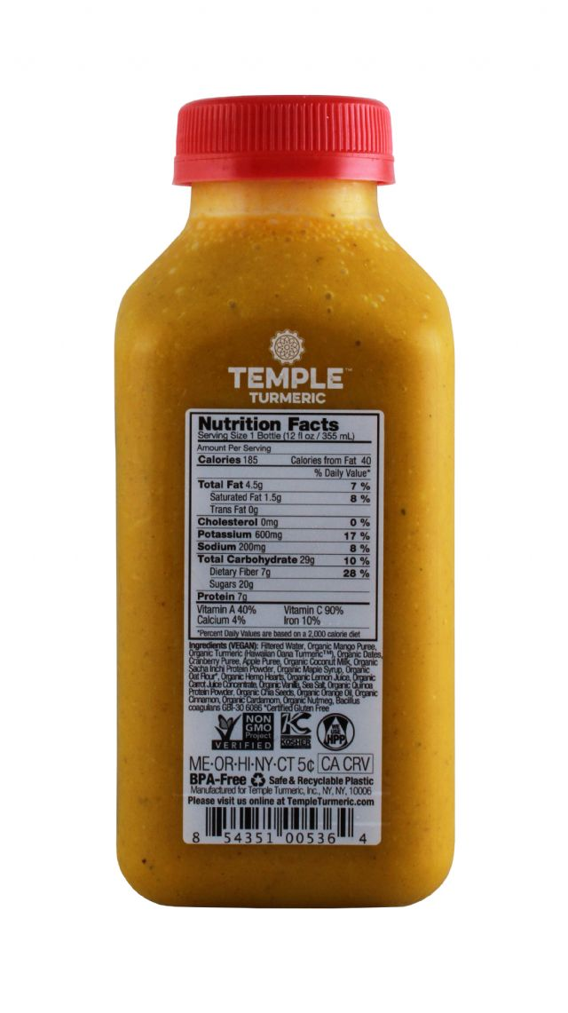 Temple Turmeric: Temple SpicedLassi Facts