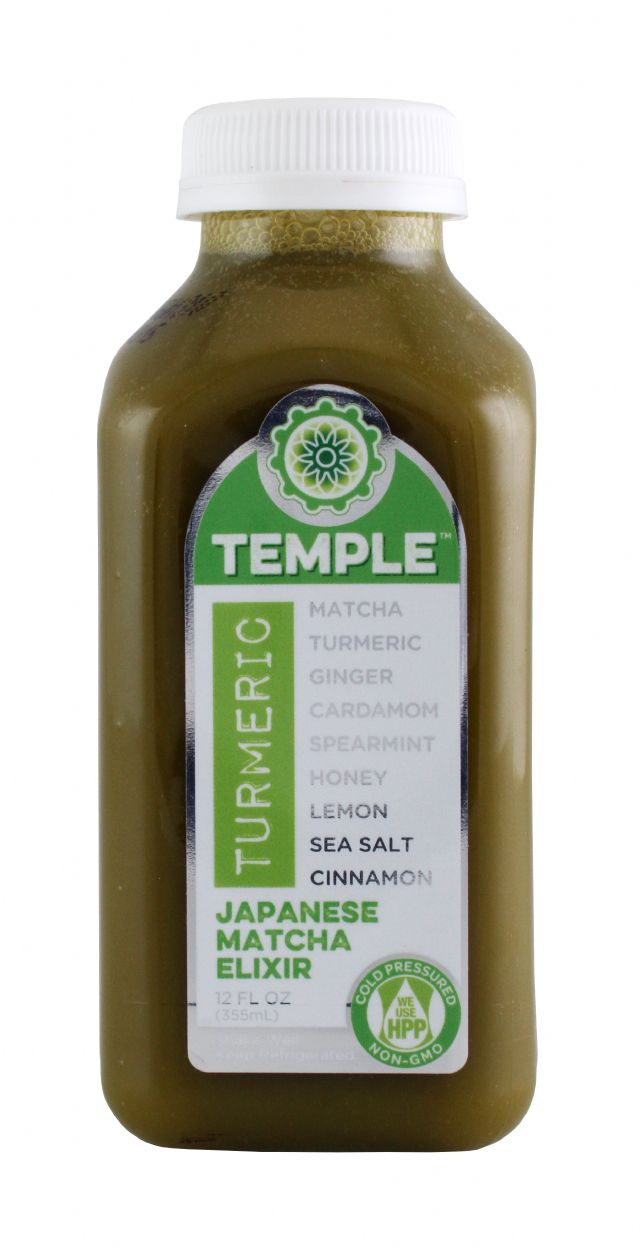 Temple Turmeric: TumericTemple JapMatcha Front