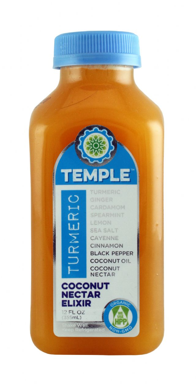 Temple Turmeric: TumericTemple CocoNectar Front