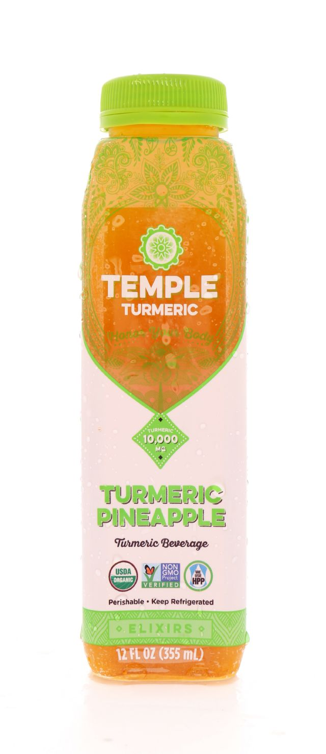 Temple Turmeric: Temple TumPine Front
