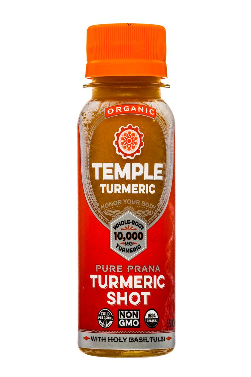 Temple Turmeric: TempleTurmeric-Shot-3oz-Turmeric-Front