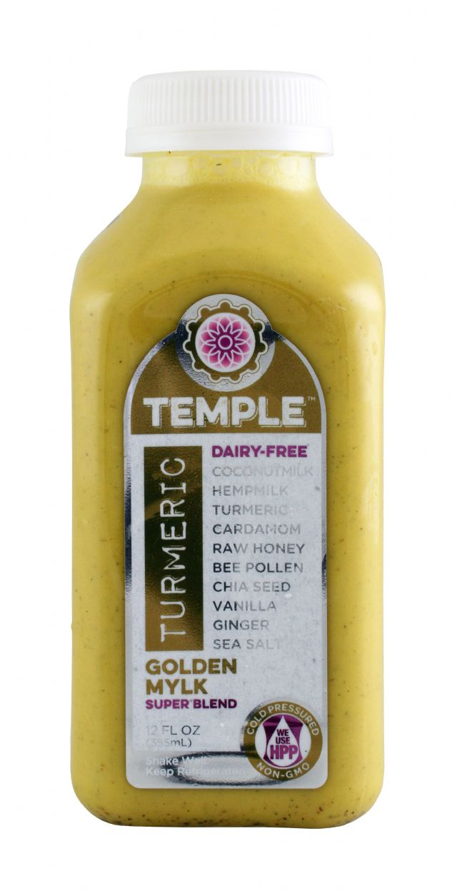 Temple Turmeric: TumericTemple GoldenMylk Front