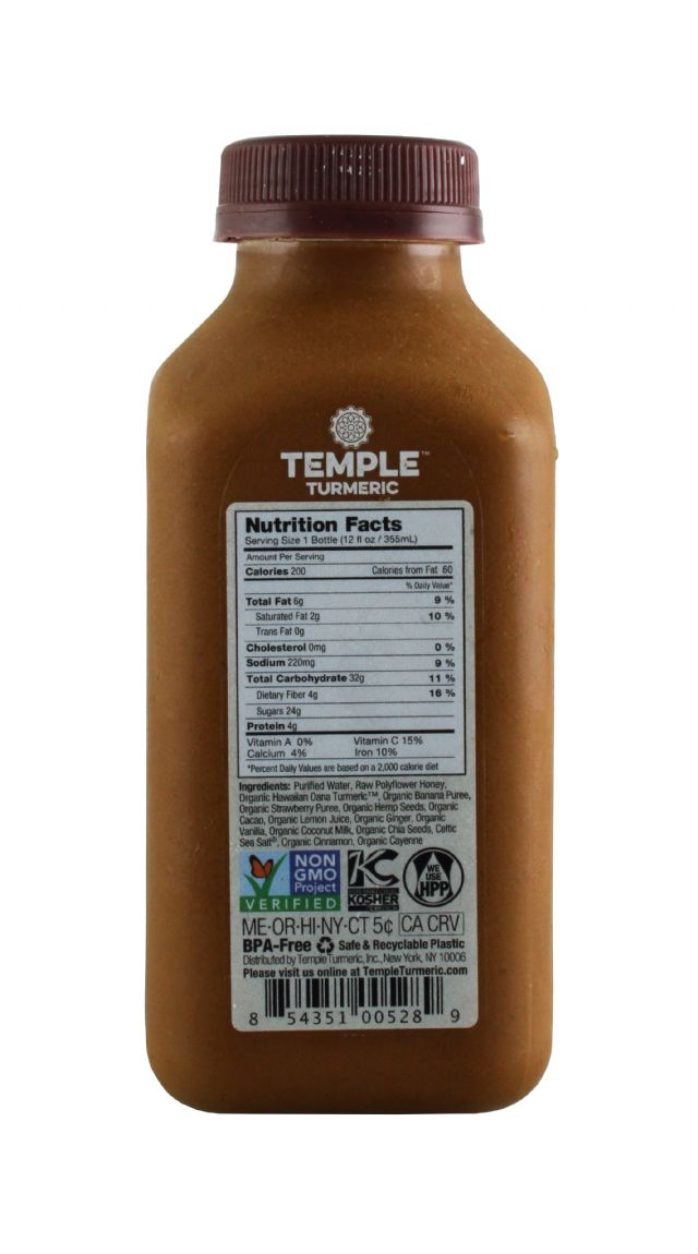 Temple Turmeric: Temple MexChoco Facts