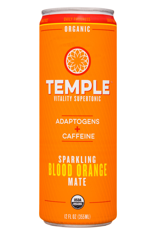 Sparkling Blood Orange Mate   Temple Vitality Supertonic   BevNET ...