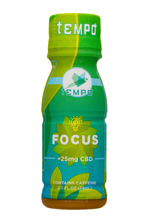 Tempo CBD: Tempo-3oz-CBDShot-Focus-Front
