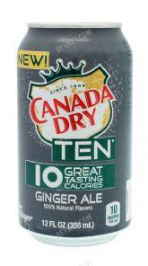 Canada Dry Ten