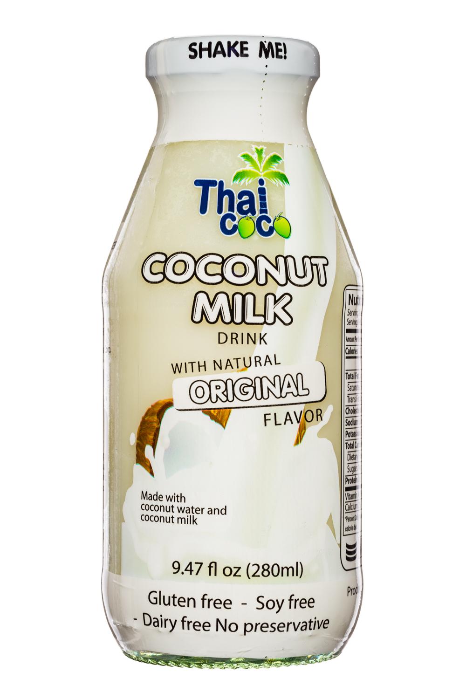 Thai Coco: ThaiCoco-CoconutMilk-9oz-OG-Front