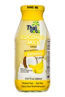 Thai Coco: ThaiCoco-CoconutMilk-9oz-Banana-Front