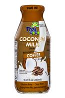 Thai Coco: ThaiCoco-CoconutMilk-9oz-Coffee-Front