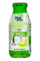 ThaiCoco-CoconutMilk-9oz-Melon-Front