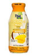 Thai Coco: ThaiCoco-CoconutMilk-9oz-Mango-Front