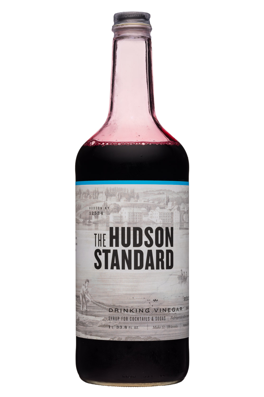 The Hudson Standard Shrub: HudsonStandard-1L34oz-DrinkingVinegar-Front