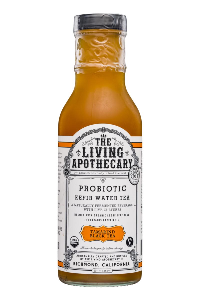 The Living Apothecary: TheLivingApothecary-13oz-ProbioticKefirWarerTea-TamarindBlackTea-Front