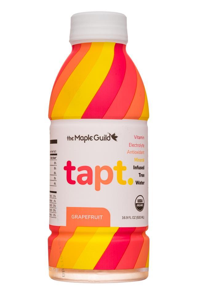The Maple Guild: MapleGuild-17oz-Tapt-Grapefruit-Front