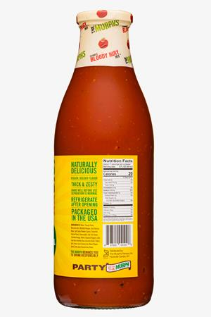 The Murph's Famous Bloody Mary Mix: TheMurphsFamous-34oz-2020-BloodyMaryMix-TheOriginal-Facts