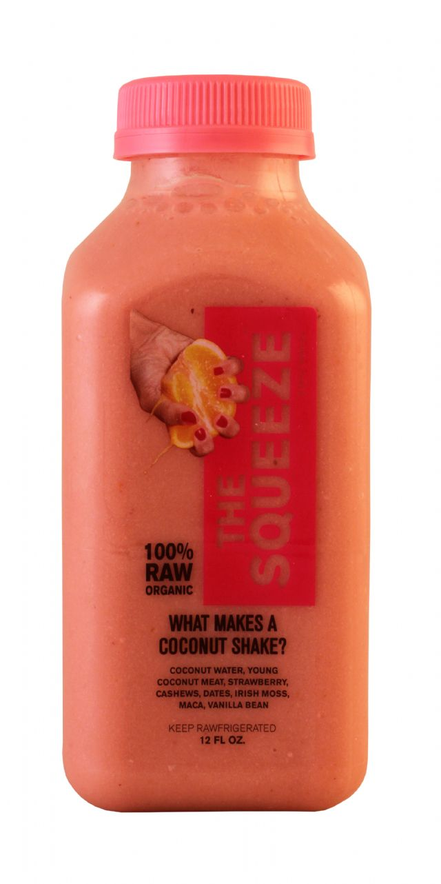 The Squeeze: TheSqueezeSM Coconut Front