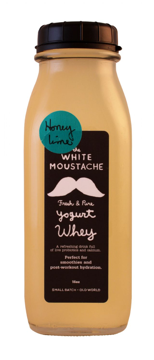The White Moustache: WhiteMoustache Lime Front