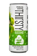 Thirsty Buddha: TempleLifestyle-ThirstyBuddha-12oz-SparkCoconut-Front